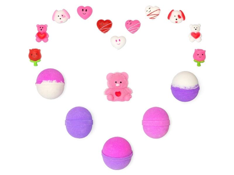Valentine's Day Bath Bombs